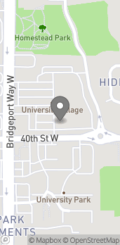 Map of 3915 Bridgeport Way in University Place