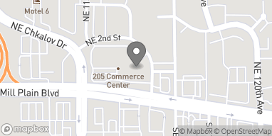 Map of 11600 SE Mill Plain Blvd in Vancouver
