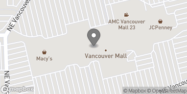 Map of 8700 NE Vancouver Mall Drive in Vancouver