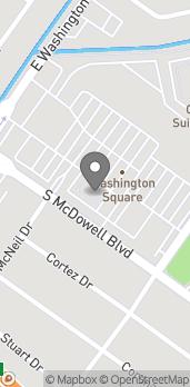 Map of 301 S McDowell Boulevard in Petaluma