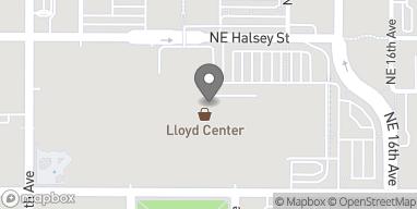 Map of 968 Lloyd Center in Portland
