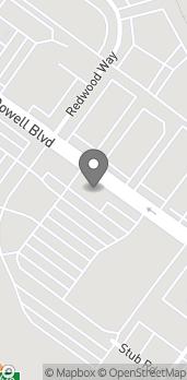 Mapa de 1367 N. McDowell Blvd en Petaluma
