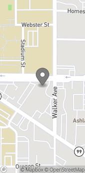 Map of 1454 Ashland St in Ashland