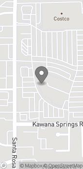 Mapa de 2166 Santa Rosa Ave en Santa Rosa