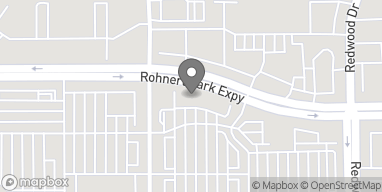Map of 445 Rohnert Park Expy in Rohnert Park