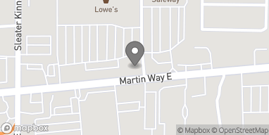Map of 4250 Martin Way E in Olympia