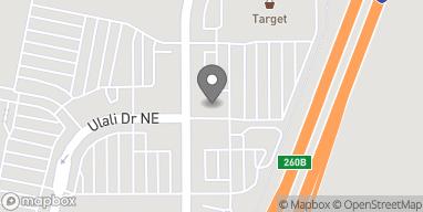 Map of 6328 Keizer Station Blvd NE in Keizer