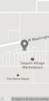 Map of 1099 W Washington St in Sequim