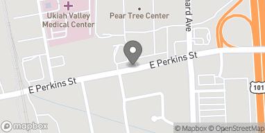 Map of 516 East Perkins Street in Ukiah