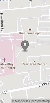 Map of 516 E Perkins in Ukiah