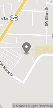 Map of 675 Southwest Keck Drive in McMinnville