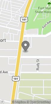 Mapa de 3543 Broadway Street en Eureka