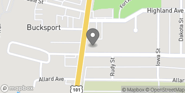 Map of 3543 Broadway Street in Eureka