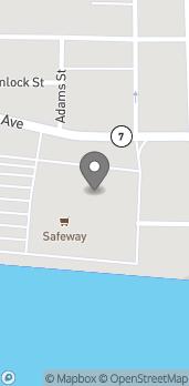 Mapa de 2417 Tongass Ave en Ketchikan