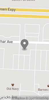 Map of 407 Merhar Ave in Fairbanks