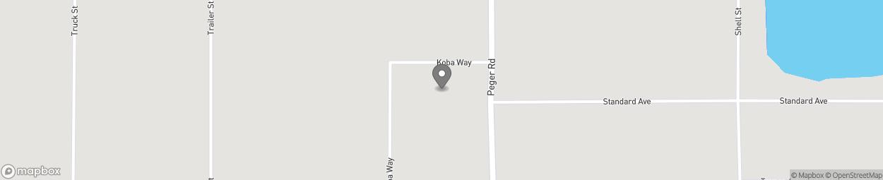 Carte de 2525 Skeeter Drive à Fairbanks