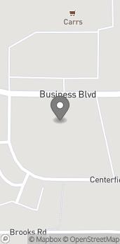 Mapa de 11432 Business Blvd en Eagle River