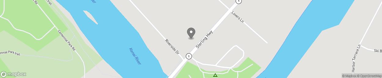 Carte de 44742 Sterling Highway à Soldotna