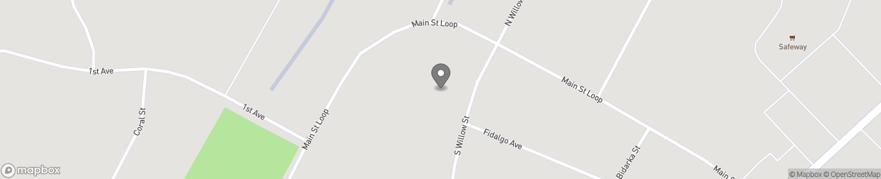 Carte de 106 South Willow Street à Kenai