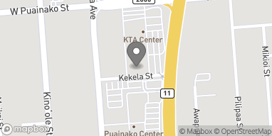 Mapa de 50 E Puainako Street en Hilo