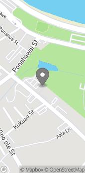 Mapa de 333 Kilauea Ave en Hilo