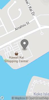Map of 377 Keahole St in Honolulu