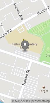 Map of 600 Kailua Road in Kailua
