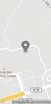 Map of 4500 Sunny Isle Shopping Center in Christiansted