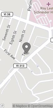 Map of 310 Estate Thomas in St.Thomas