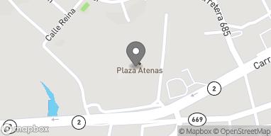 Map of Centro Comercial Plaza Atenas in Manati