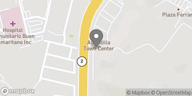 Map of Aguadilla Town Center Pr 2 Int Pr 107 in Aguadilla