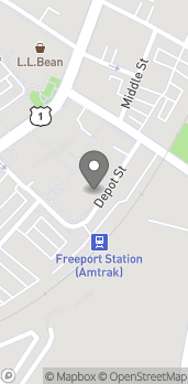 Map of 1 Freeport Village Station in Freeport