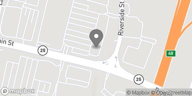Map of 11 Main Street in Westbrook