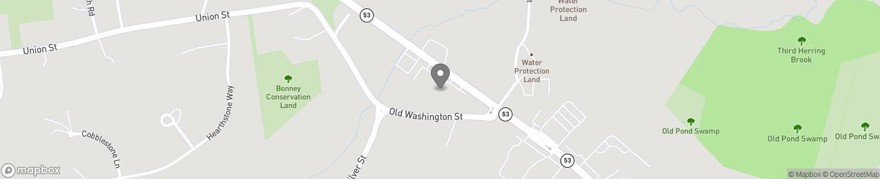 Map of 952 Washington Street in Hanover