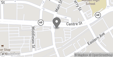 Map of 329 Main St in Malden
