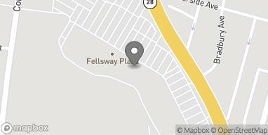 Map of 686 Fellsway in Medford