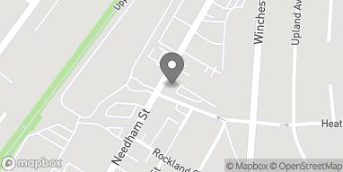 Mapa de 88 Needham St en Newton
