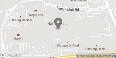 Map of 1245 Worcester St in Natick