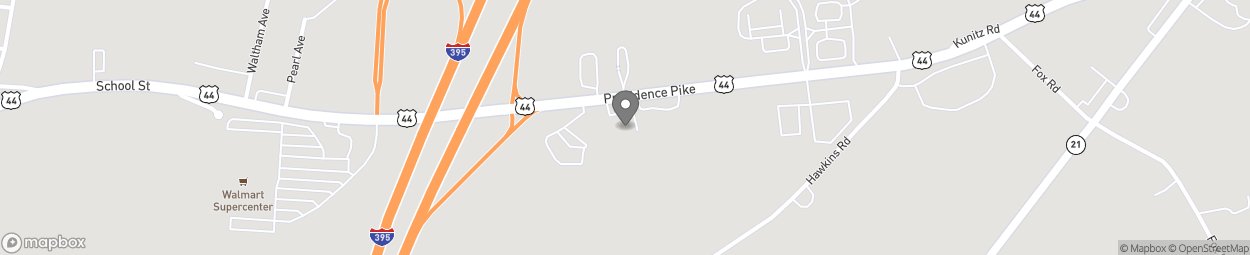 Map of 17 Providence Pike in Putnam