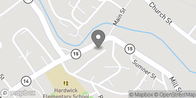 Map of 35 South Main St in Hardwick