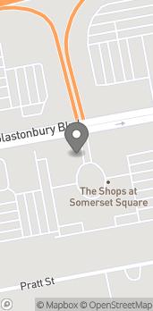 Map of 140 Glastonbury Blvd in Glastonbury