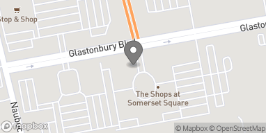 Mapa de 140 Glastonbury Blvd en Glastonbury