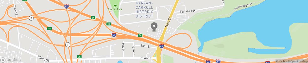 Map of 701 Main Street in East Hartford