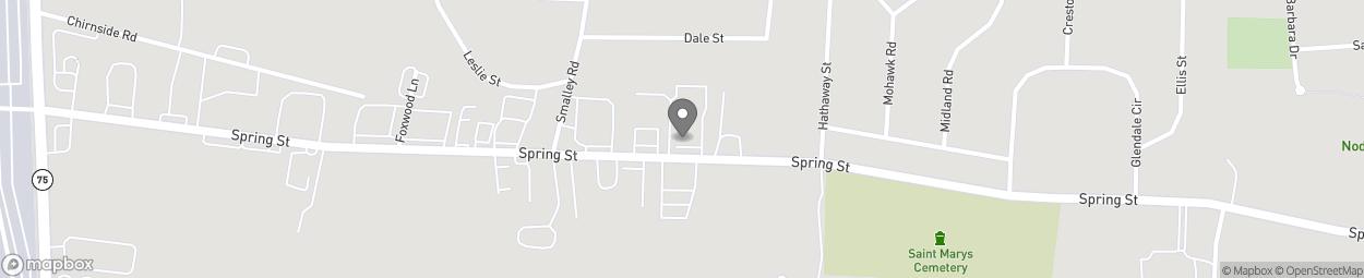 Map of 430 Spring Street in Windsor Locks