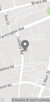 Map of 56 Lasalle Road in West Hartford