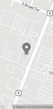 Mapa de 496F So. Broad St en Meriden