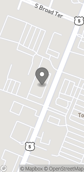 Map of 496F So. Broad St in Meriden
