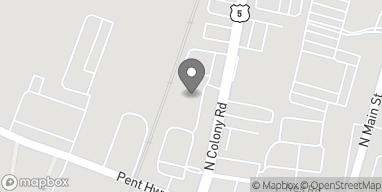Mapa de 893 N Colony Rd en Wallingford