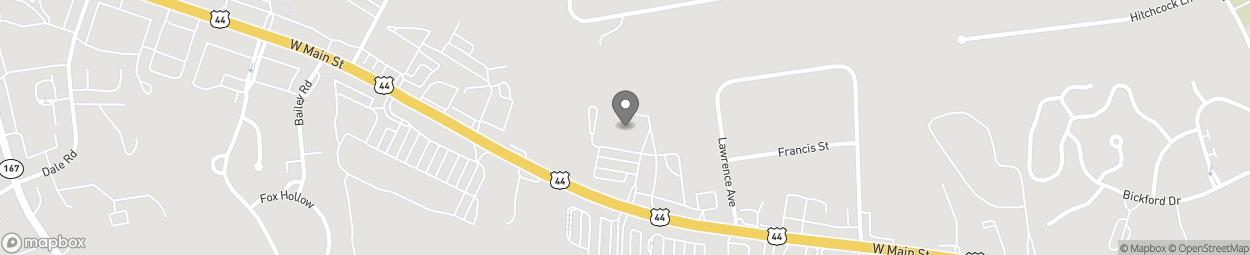 Map of 260 West Main Street in Avon