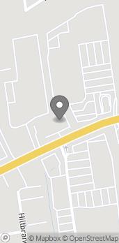 Map of 1215 Farmington Avenue in Bristol